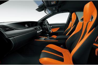 GS F (インテリアカラー:ブラック&アクセントオレンジ)
