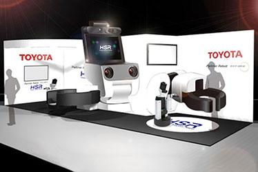 「2015国際ロボット展」トヨタブースイメージ