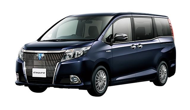 """エスクァイア特別仕様車Gi""""Black-Tailored""""(ハイブリッド車)<オプション装着車>"""