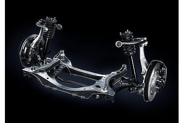 LEXUS LC500 フロントサスペンション