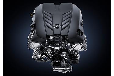 LEXUS LC500 エンジン