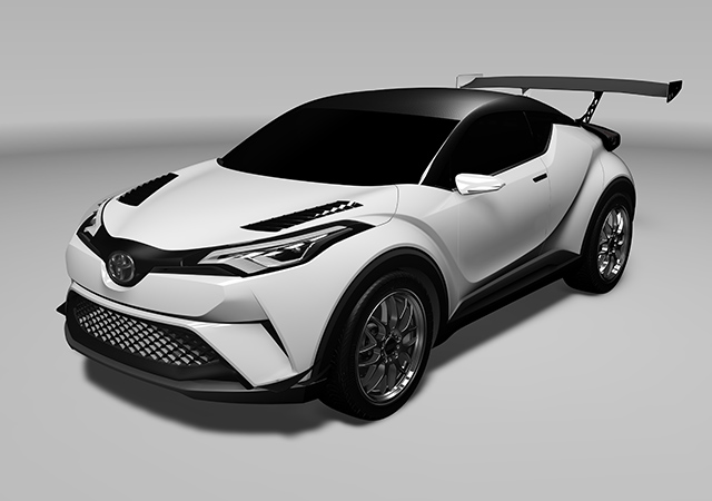 Toyota C-HR Racing (Vehicle based on Toyota C-HR Concept)