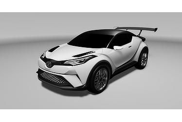 Toyota C-HR Racing (Vehicle based on Toyota C-HR Concept)