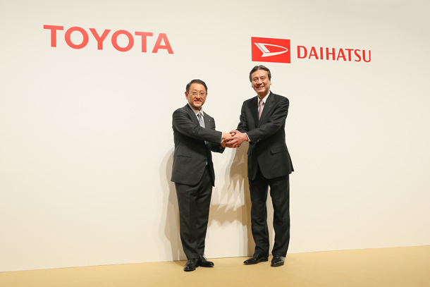 トヨタ自動車とダイハツ工業、両ブランドで小型車事業強化