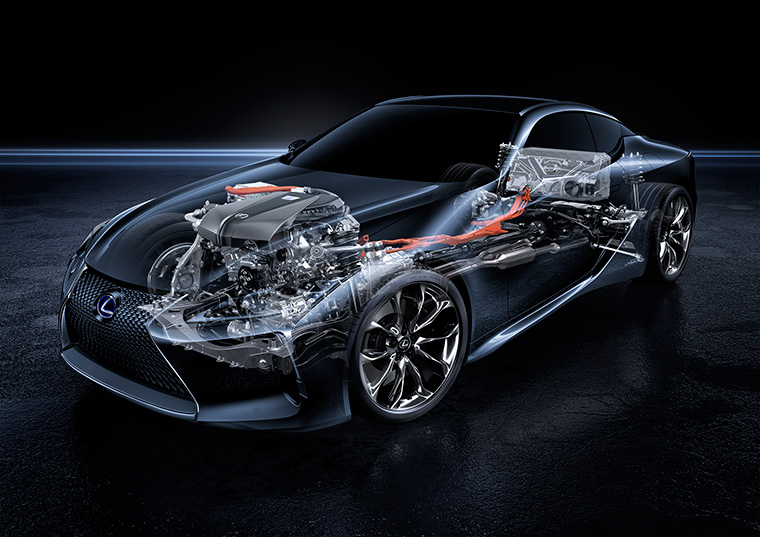 Lexus LC 500h Multi Stage Hybrid System