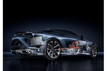 LEXUS LC500h マルチステージハイブリッドシステム
