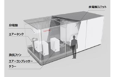 水電解装置((株)東芝)