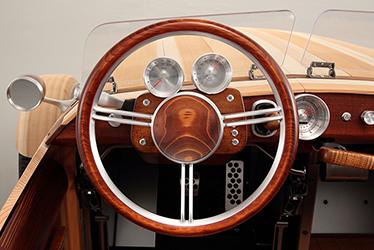 Wipe-lacquering: Steering Wheel