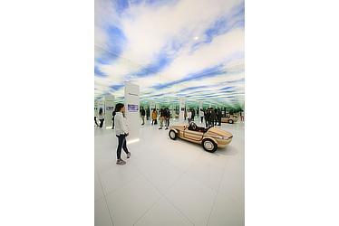 Toyota Setsuna exhibit at Milan Design Week