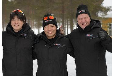 Hiroki Arai, Takamoto Katsuta, Tommi Mäkinen