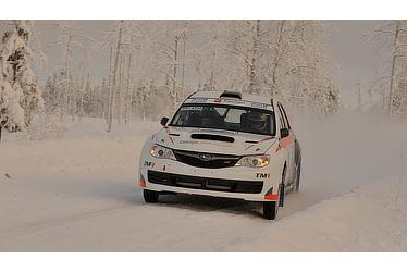 In Arctic Lapland Rally
