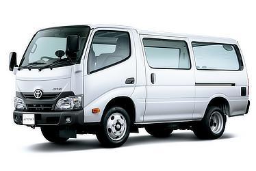 ダイナ ルートバン 標準キャブ・2t積・ディーゼル車・2WD・4ドア・3人乗り(ホワイト)<オプション装着車>