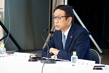 Shigeru Hayakawa, Senior Managing Officer, Member of the Board of Directors