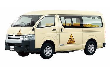 ハイエース 幼児バス ワゴン(4WD)(ライトイエロー)