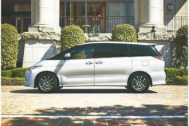 エスティマ ハイブリッド AERAS PREMIUM-G (E-Four・7人乗り) (ホワイトパールクリスタルシャイン) 〈オプション装着車〉