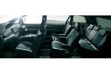 エスティマ ハイブリッド AERAS PREMIUM-G (E-Four・7人乗り) (内装色:ブラック/シート色:ブラック) 〈オプション装着車〉
