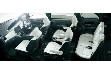エスティマ ハイブリッド AERAS SMART (E-Four・7人乗り) (内装色:ブラック/シート色:ホワイト(設定色)) 〈オプション装着車〉