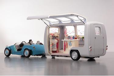 Exhibition vehicle (Camatte 57s + Camatte Capsule)