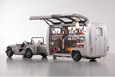 Exhibition (vehicle Camatte Hajime + Camatte Capsule)