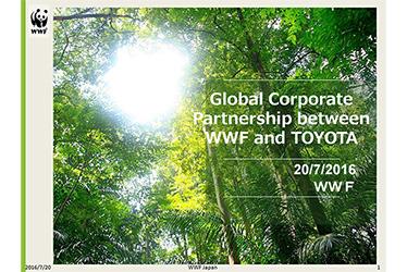 Presentation by WWF Japan