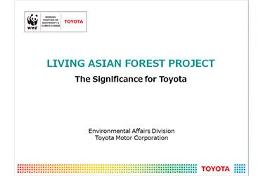 Presentation by Toyota motor corporation