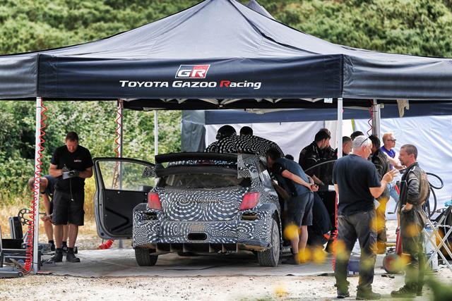 TOYOTA GAZOO Racing WRC team