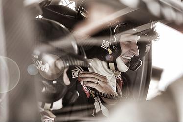 Test driver Juho Hanninen