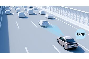 レーダークルーズコントロール(全車速追従機能付) 作動イメージ