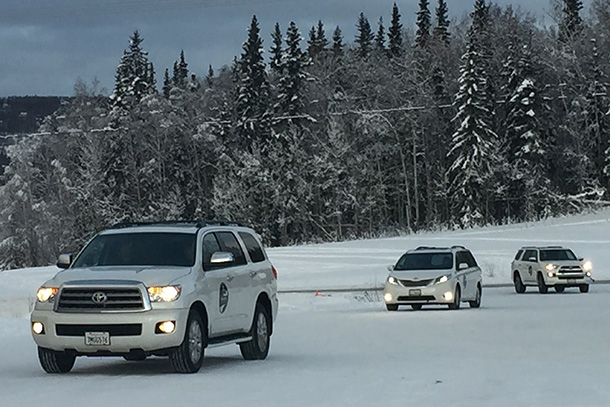 Toyota Team Members Tackle the Terrain of Latin America