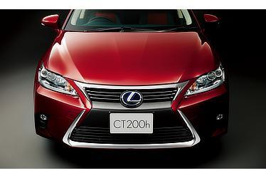 "CT200h特別仕様車""Cool Touring Style"" スピンドルグリル(メッキロアモール)"