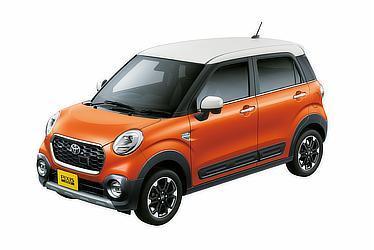 """C G """"SA Ⅱ""""(2WD)(トニコオレンジメタリック×ホワイト)<オプション装着車>"""