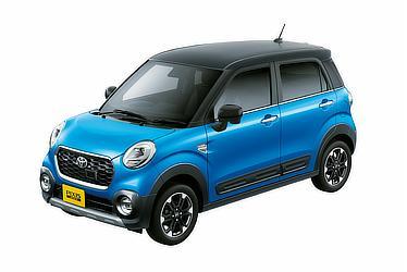 """C G """"SA Ⅱ""""(2WD)(スプラッシュブルーメタリック×ブラック)<オプション装着車>"""