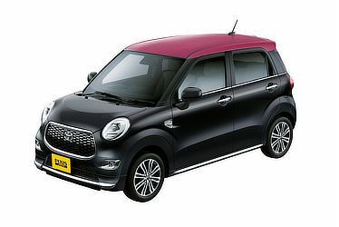 """F G """"SA Ⅱ""""(2WD)(ブラックマイカメタリック×ワインレッド)<オプション装着車>"""