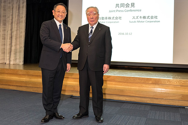 Suzuki and Toyota to Explore Business Partnership