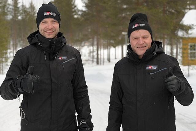 Juho Hänninen and Tommi Mäkinen