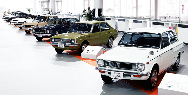 Evolution of Corolla