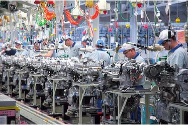 TMIP production of engines