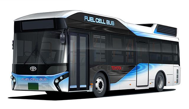 トヨタ自動車、2017年初めより、燃料電池バスをトヨタブランド ...