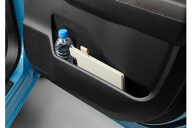 H:フロントドアポケット&ボトルホルダー (運転席・助手席)
