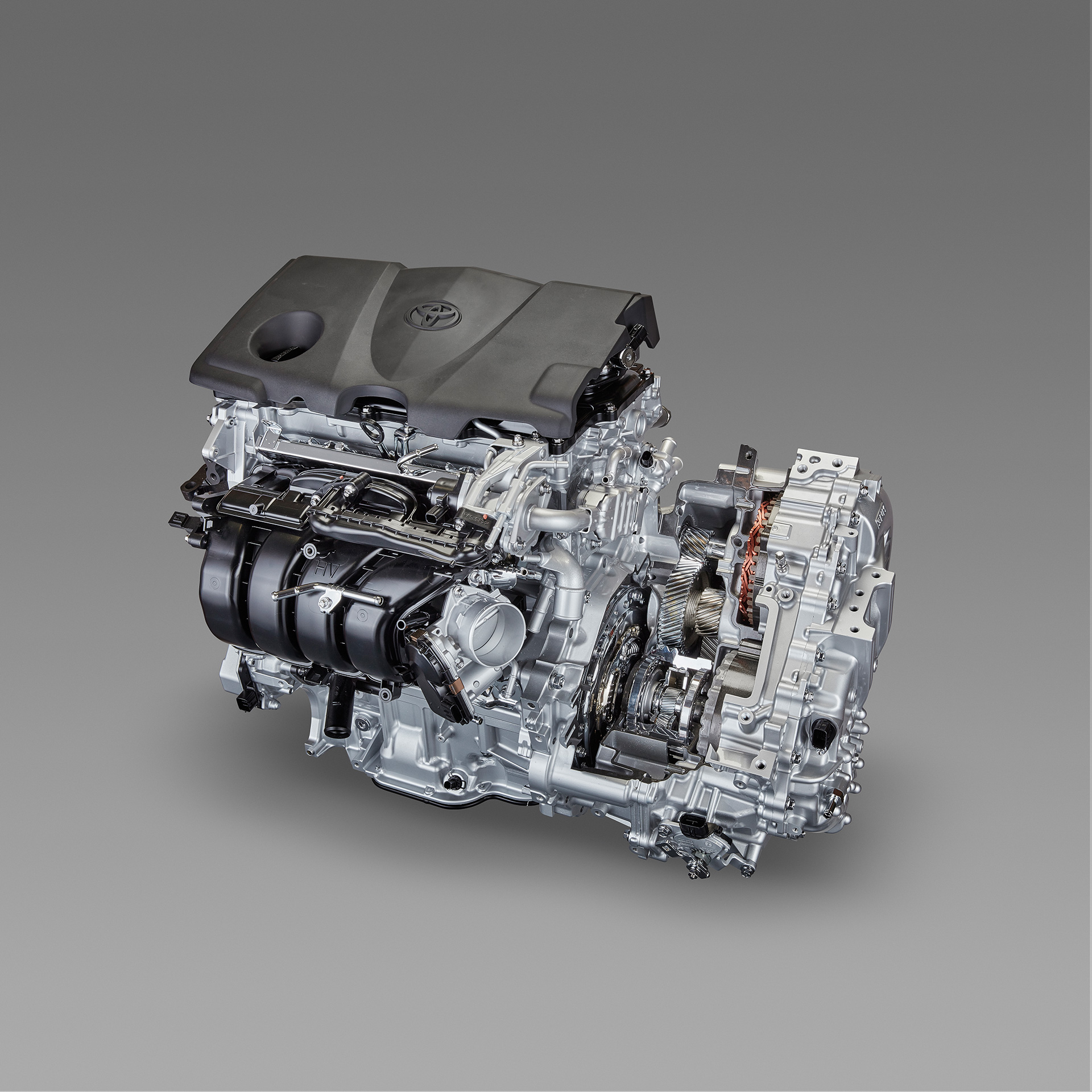 Inline 4 Cylinder 2.5L Direct Injection Gasoline Engine / New Transaxle