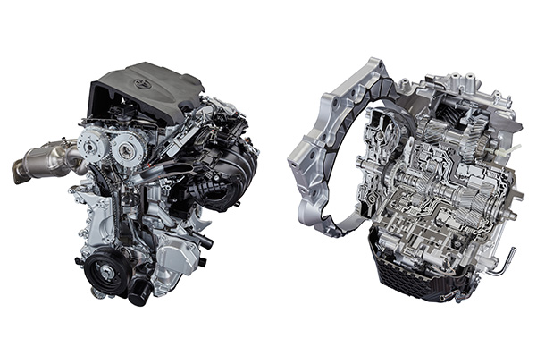 Toyota Develops TNGA-based Powertrain Units for Smooth, Responsive,