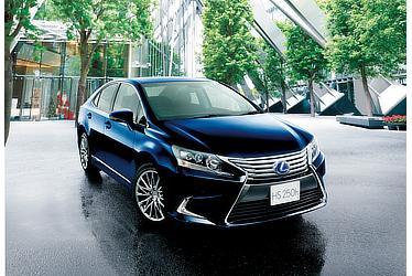 """HS250h特別仕様車""""Harmonious Style Edition""""(ディープブルーマイカ)<オプション装着車>"""