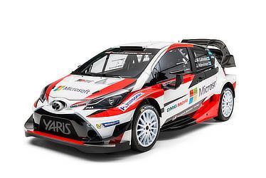 Yaris WRC 参戦車両