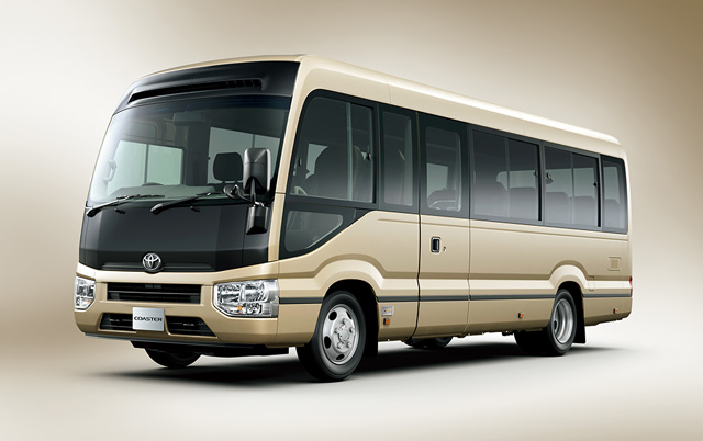 Toyota Coaster Undergoes Model Change After 24 Years