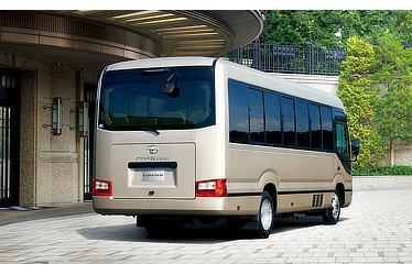 EX (ロングボディ・冷蔵庫付28人乗り・6AT) (ベージュメタリック) 〈オプション装着車〉