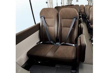 ELR付3点式シートベルト (運転席・助手席・リヤシート)
