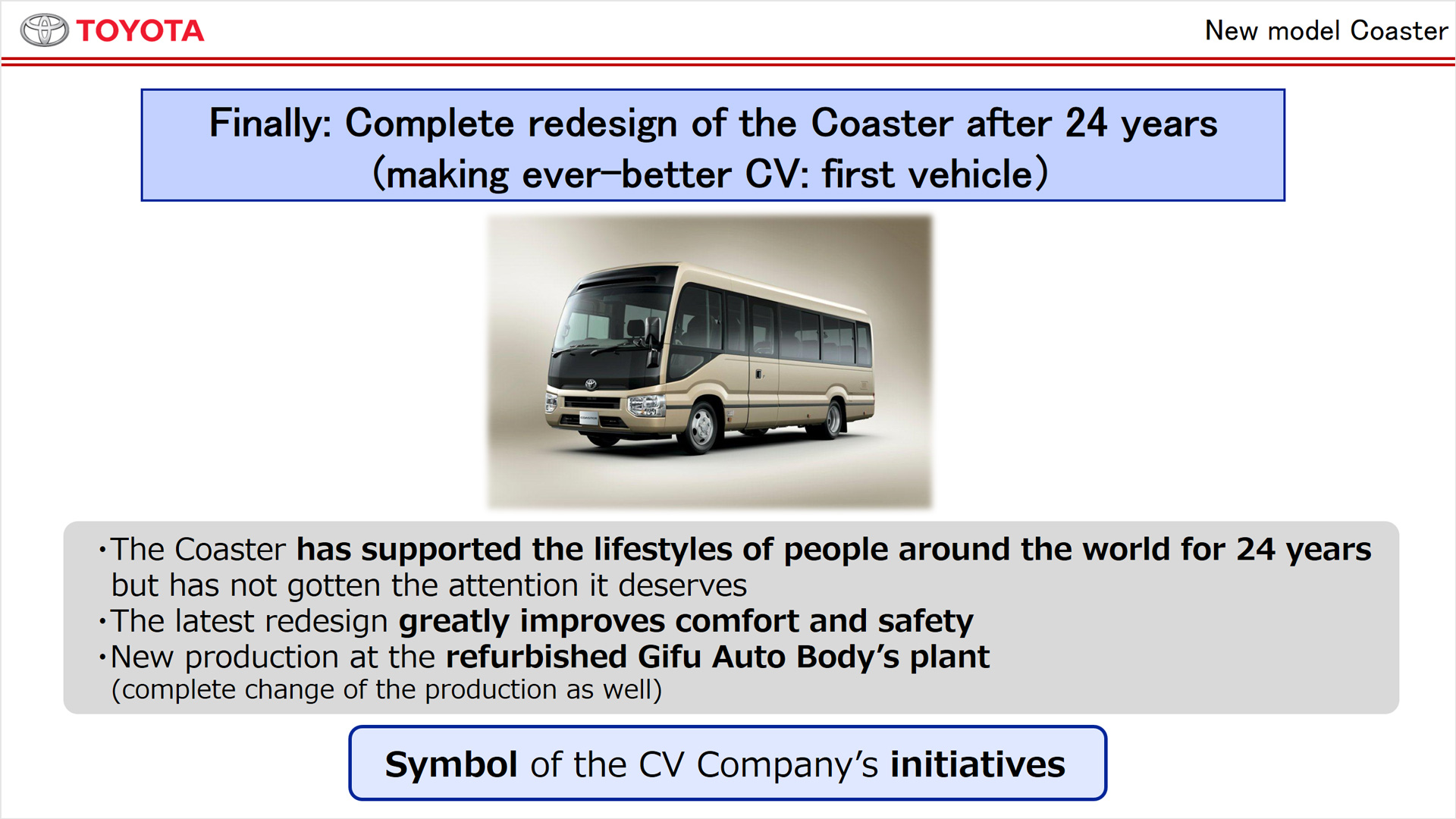 toyota motor corporation target costing The steps of implementing target costing mahmud hematfar phd the system used at toyota motor corporation is the oldest and considered by many the most technically advanced while the this target is below the company's current manufacturing cost.