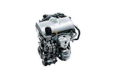 1.3L 1NR-FKE VVT-iEエンジン [アイドリングストップ機能付]