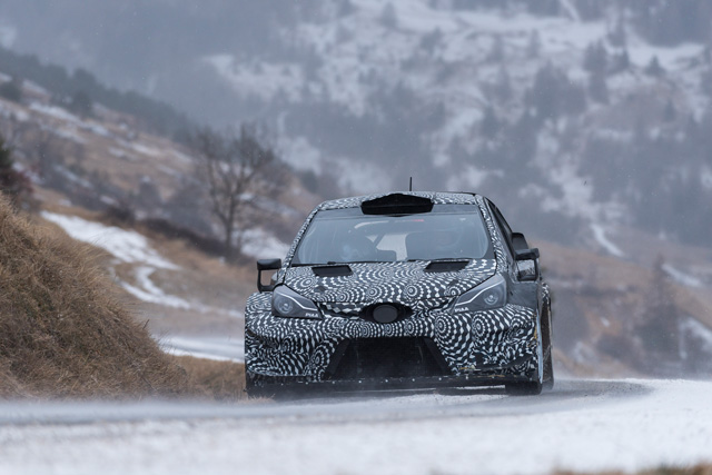Yaris WRC (test program)