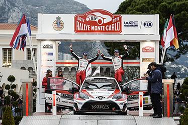 【ドライバー】ミーカ・アンティラ/ヤリ-マティ・ラトバラ 2017 WRC Round 1 RALLYE MONTE-CARLO